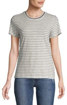 Madewell Striped Cotton Ringer Tee