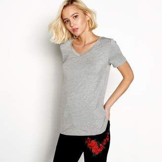 Noisy May Grey Short Sleeve 'Harry' Top