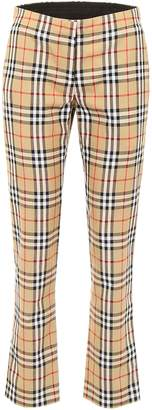 Burberry Check Hanover Trousers