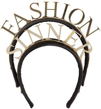 Dolce & Gabbana Fashion Sinner Headband