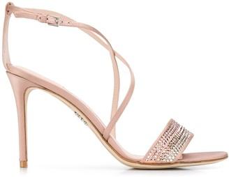 Rodo rhinestone embellished sandals