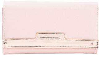 Adventure Awaits Oil Slick File Wallet
