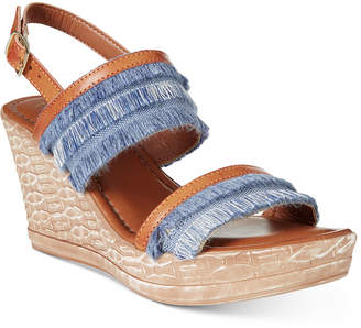 Easy Street Shoes Tuscany by Zaira Wedge Sandals