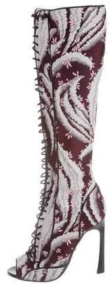 Giambattista Valli Lace-Up Knee-High Boots