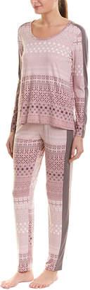 Josie Natori 3Pc Slumber Party Pajama Set