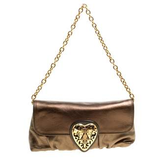 Gucci Hysteria Metallic Leather Handbags