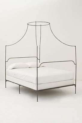 Anthropologie Campaign Canopy Bed