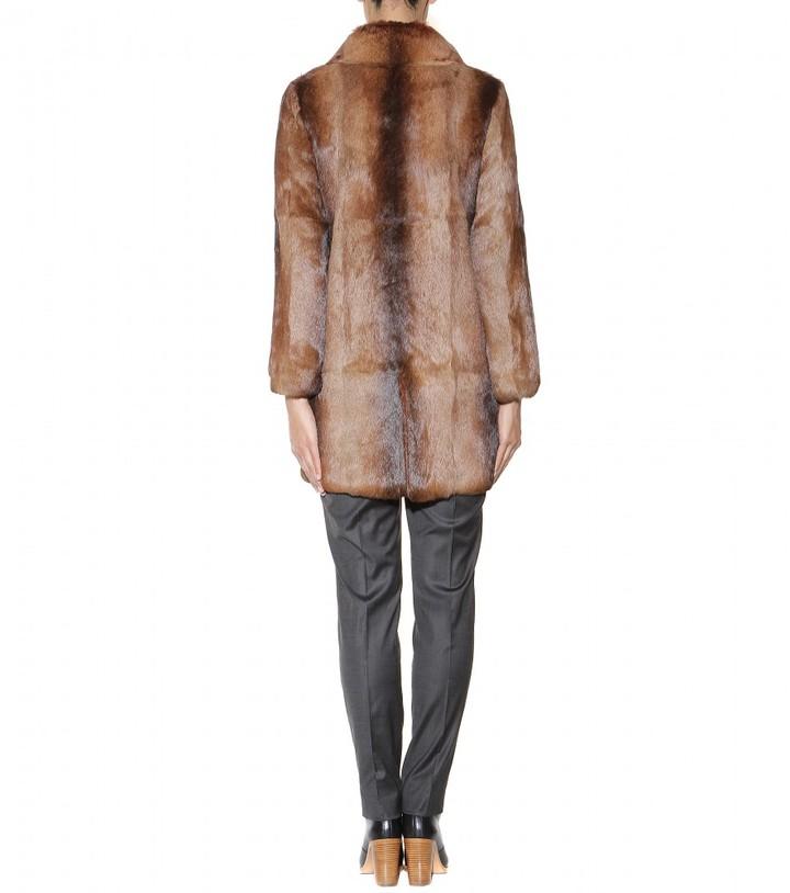 A.P.C. New Poupée fur coat