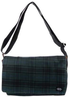 Jack Spade Twill Flap Messenger Bag