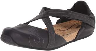 Ahnu Women's Karma Latitude Leather Ballet Flat