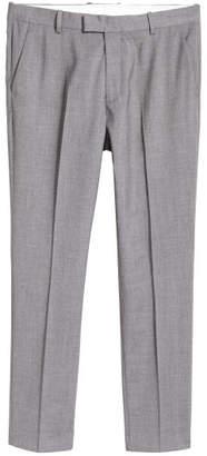 H&M Suit Pants Slim fit - Gray