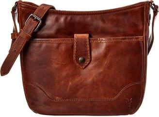 Frye Melissa Button Leather Crossbody