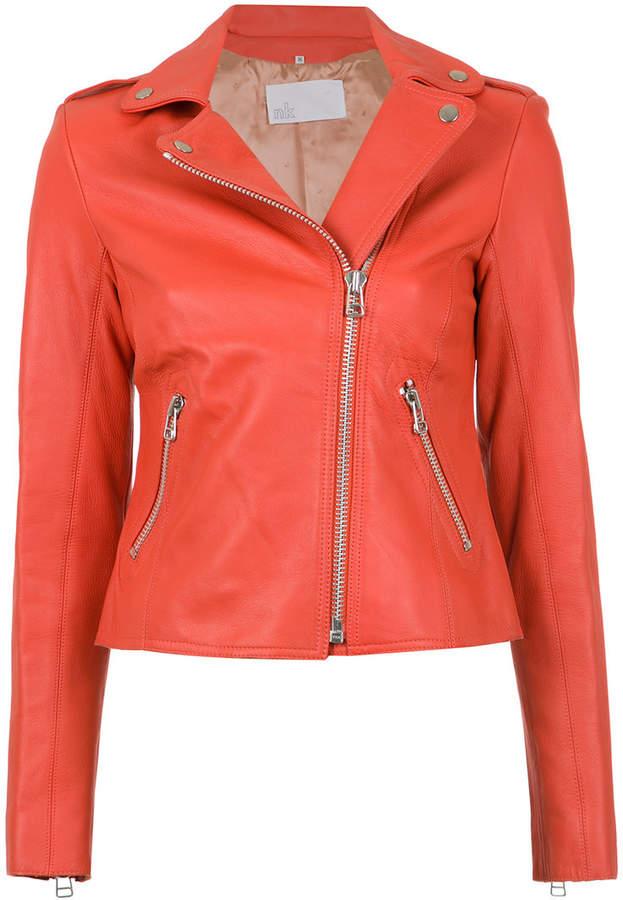Nk leather biker jacket