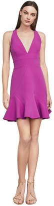 BCBGMAXAZRIA Dolle Sleeveless Halter Dress