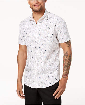 INC International Concepts I.n.c. Men's Printed Shirt, Created for Macy's