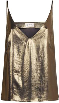 L'Agence Gabriella Metallic Camisole Top