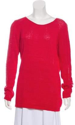 Rachel Zoe Open-Knit Lightweight Sweater