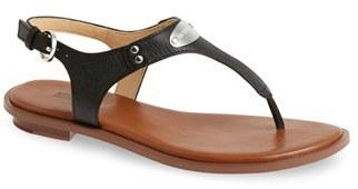 Women's Michael Michael Kors 'Plate' Thong Sandal $68.95 thestylecure.com