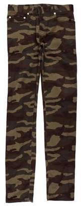 Christian Dior Camouflage Skinny Pants