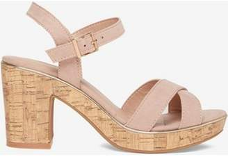 Dorothy Perkins Womens Blush 'Romy' Platform Sandals