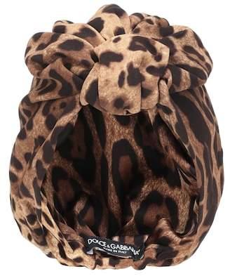 Dolce & Gabbana Leopard turban