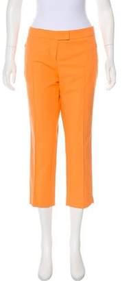 Akris Punto Mid-Rise Cropped Pants