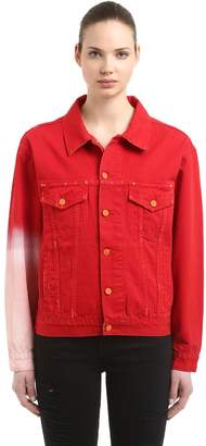 The Sleeve Red Japanese Denim Jacket