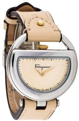 Salvatore Ferragamo Buckle Watch