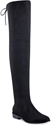 Marc Fisher Humor Over-The-Knee Boots $129 thestylecure.com