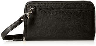 Buxton The Ultimate Double Zip Organizer