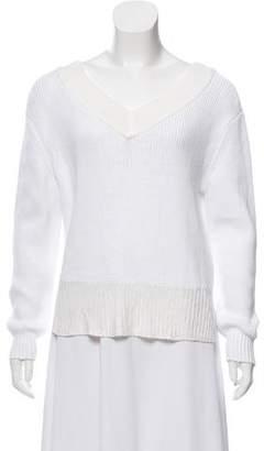 Rag & Bone Rib-Knit Long Sleeve Sweater