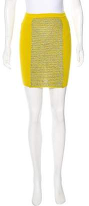Alexander Wang Knit Mini Skirt
