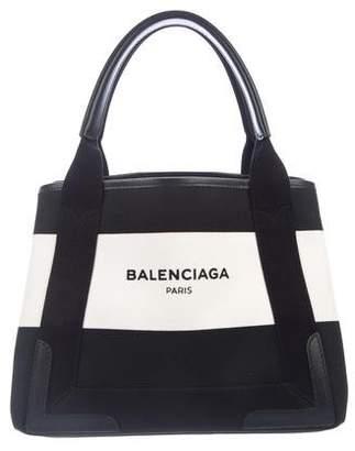Balenciaga Cabas Canvas Tote w/ Tags