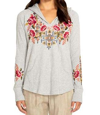 Johnny Was JWLA By Women's Hooded Thermal with Embroidery