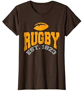 Vintage Rugby T-Shirt Retro Sports Fans Team Games