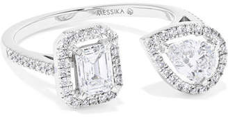 Messika - My Twin Toi & Moi 18-karat White Gold Diamond Ring