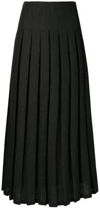 Mara Hoffman Cordelia high-pleated skirt