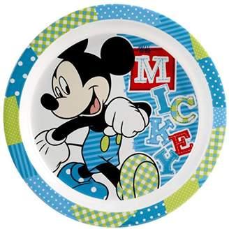 Camilla And Marc lulabi Disney Mickey Melamine Plate, Light Blue, 21. cm