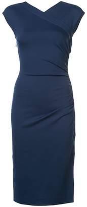 Diane von Furstenberg ruched waist dress
