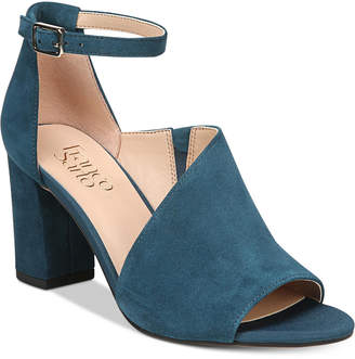 Franco Sarto Gayle Block-Heel Dress Sandals