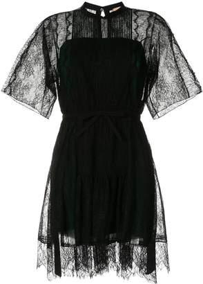 No.21 lace-trimmed dress