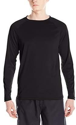 Kanu Surf Men's UPF 50+ Long Sleeve Rashguard Swim Shirt