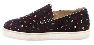 Christian Louboutin Boat Flat Slip-On Sneakers