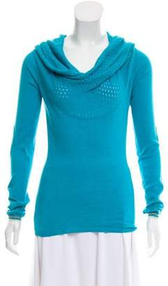Stella McCartney Mesh-Accented Knit Top