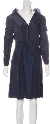 Marni Long Sleeve A-Line Dress