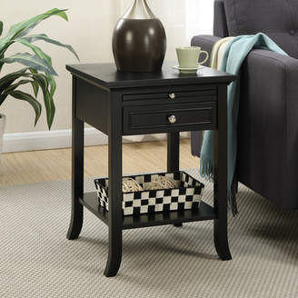 Andover Mills End Table With Storage Table Top