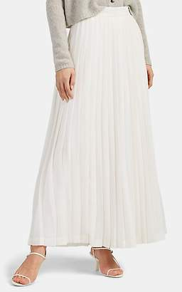 38b3a5ad5e The Row Women's Lawrence Pleated Chiffon Skirt - White