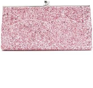 Victoria Beckham glitter pocket clutch