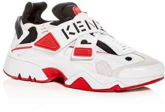 Kenzo Women's Sonic Crisscross Strap Low-Top Sneakers