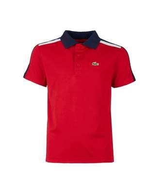 Lacoste Sport Logo Collar Contrast Polo